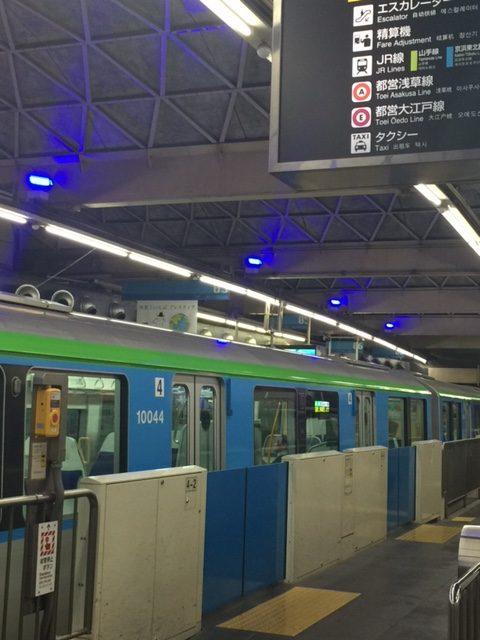 羽田モノレールのアナウンス