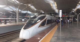 天津から広州まで高鉄で9時間